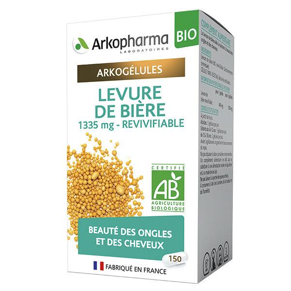 Arkopharma Arkogélules Levure de Bière Bio 150 Gélules