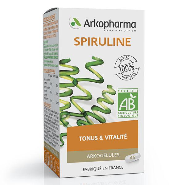 Arkopharma Arkogélules Spiruline Bio 45 gélules