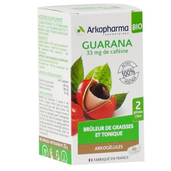 Arkopharma Arkogélules Guarana Bio 40 gélules