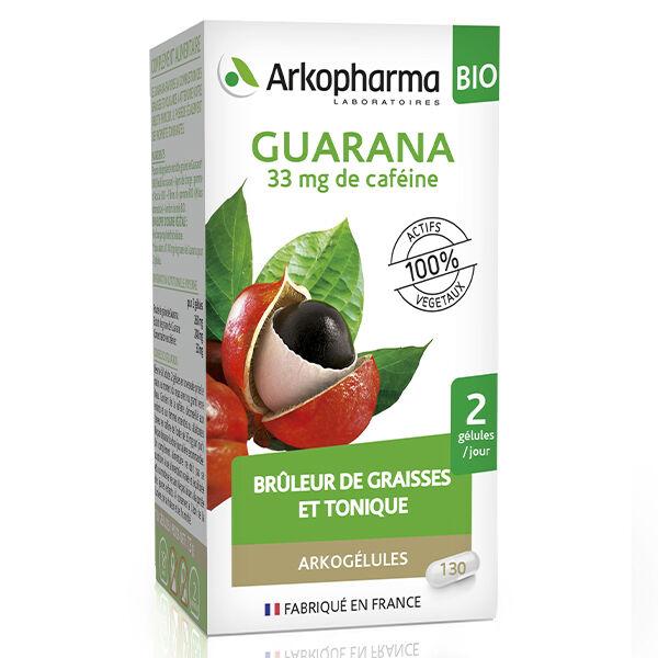 Arkopharma Arkogélules Guarana Bio 130 gélules