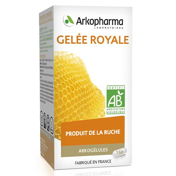 Arkopharma Arkogélules Gelée Royale Bio 150 gélules