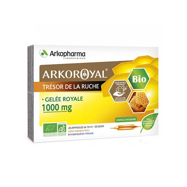 Arkopharma Arkoroyal Gelée Royale Bio 1000mg 20 ampoules