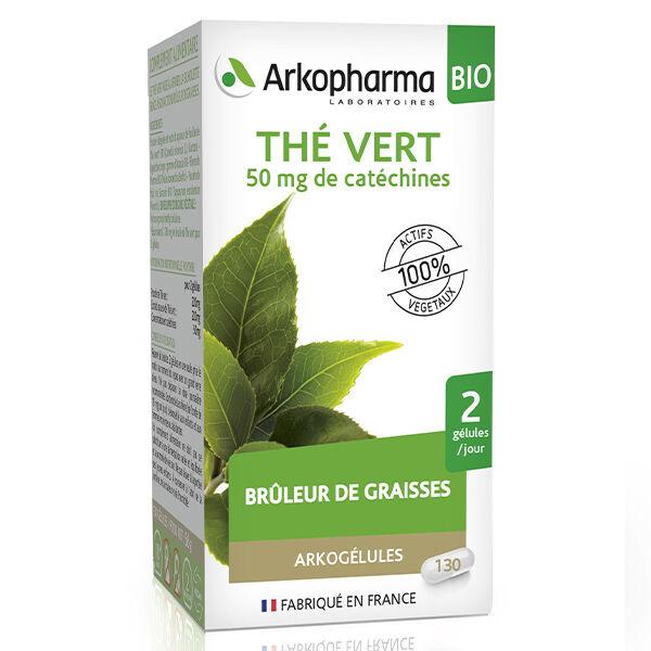 Arkopharma Arkogélules Thé Vert Bio 130 gélules