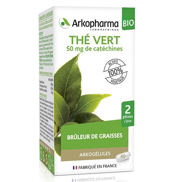 Arkopharma Arkogélules Thé Vert Bio 45 gélules