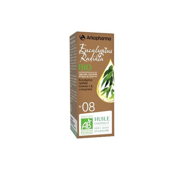 Arko Essentiel Huile Essentielle Bio Eucalyptus Radiata N°8 10ml