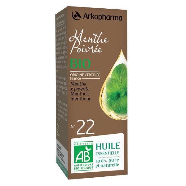 Arko Essentiel Huile Essentielle Bio Menthe Poivrée N°22 10ml