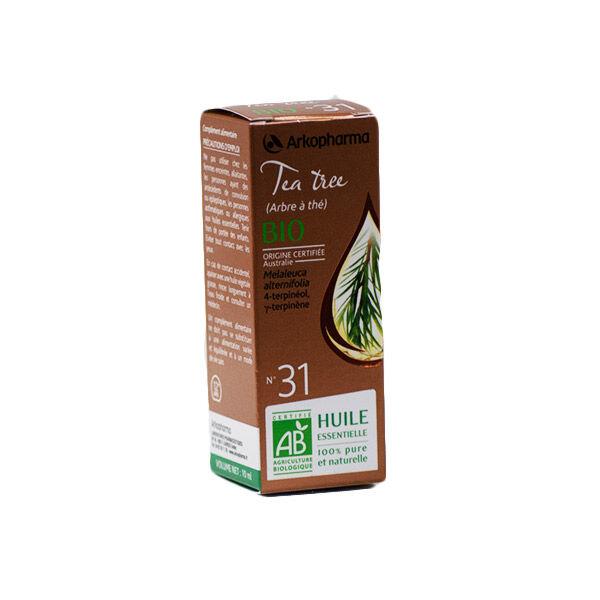 Arko Essentiel Huile Essentielle Bio Tea Tree N°31 10ml