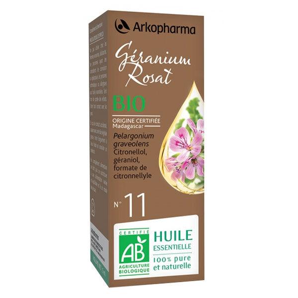 Arko Essentiel Huile Essentielle Bio Géranium Rosat N°11 5ml