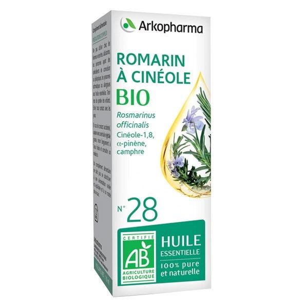 Arko Essentiel Huile Essentielle Bio Romarin à Cinéole N°28 10ml
