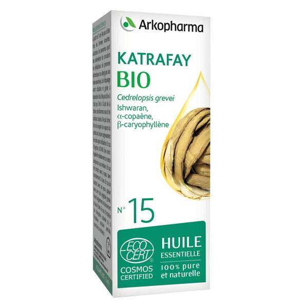 Arko Essentiel Huile Essentielle Bio Katrafay N°15 10ml