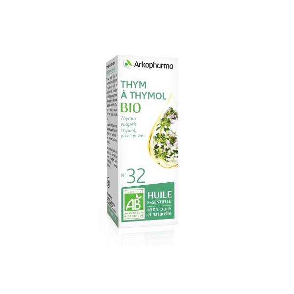 Arko Essentiel Huile Essentielle Bio Thym à Thymol N°32 5ml