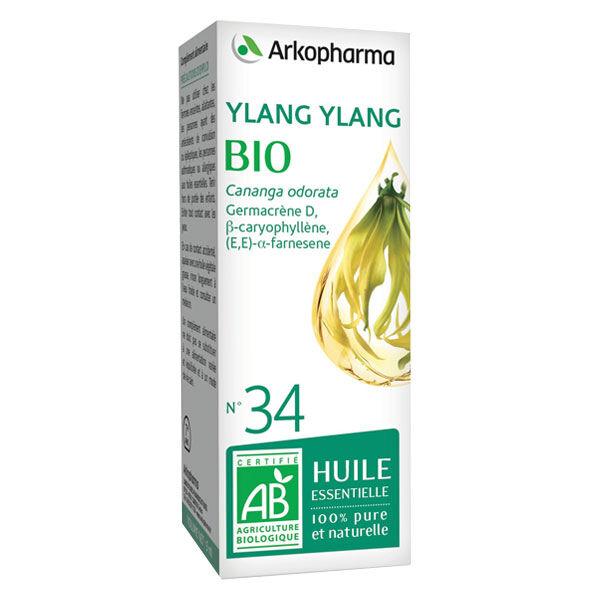Arko Essentiel Huile Essentielle Bio Ylang Ylang N°34 5ml