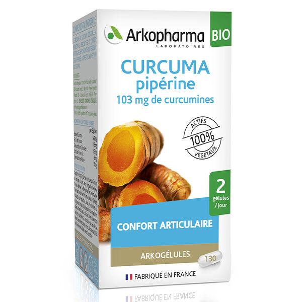 Arkopharma Arkogélules Curcuma Pipérine 130 gélules