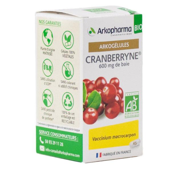Arkopharma Arkogélules Cranberryne Bio 45 gélules