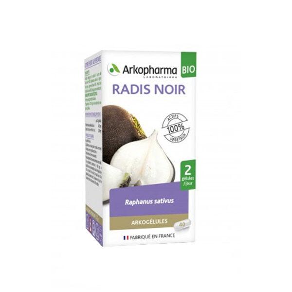 Arkopharma Arkogélules Radis Noir Bio 40 gélules