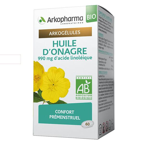 Arkopharma Arkogélules Huile d'Onagre Bio 60 gélules