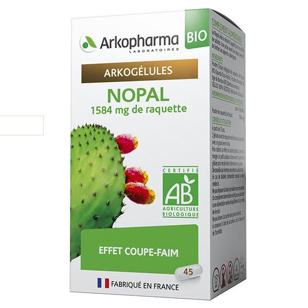 Arkopharma Arkogélules Nopal Bio 45 gélules