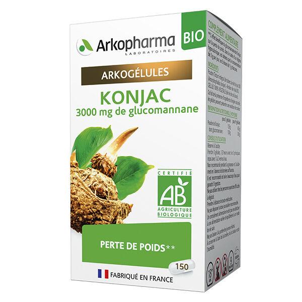 Arkopharma Arkogélules Konjac Bio 150 gélules