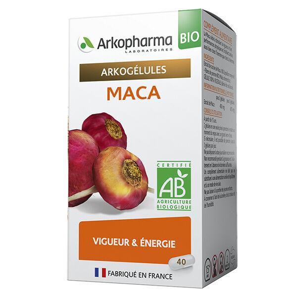 Arkopharma Arkogélules Maca Bio 40 gélules