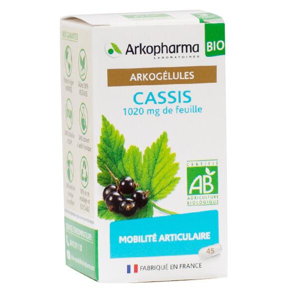 Arkopharma Arkogélules Cassis Bio 45 Gélules