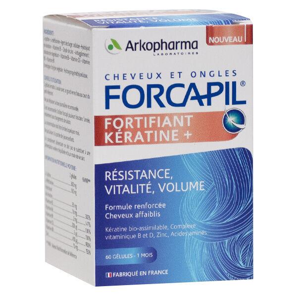 Arkopharma Forcapil Kératine+ 60 gélules