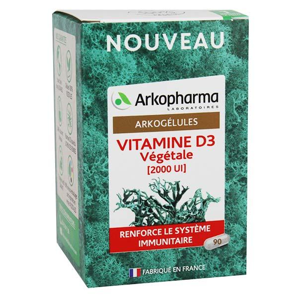 Arkopharma Arkogélules Vitamine D3 Végétale 90 gélules