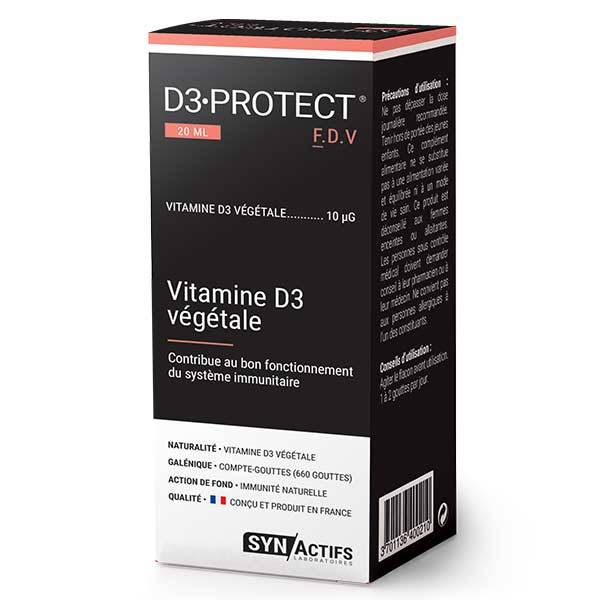 Synactifs D3 Protect 20ml