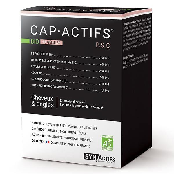 Synactifs CapActifs Cheveux et Ongles Bio 90 gélules