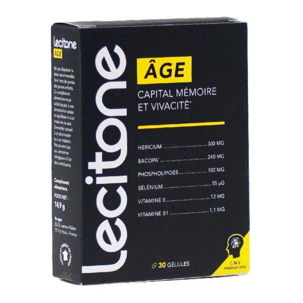 Nutrisanté Lécitone Age 30 gélules