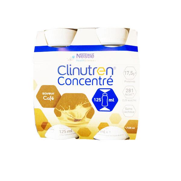 Clinutren Concentré Saveur Café 4 x 125ml