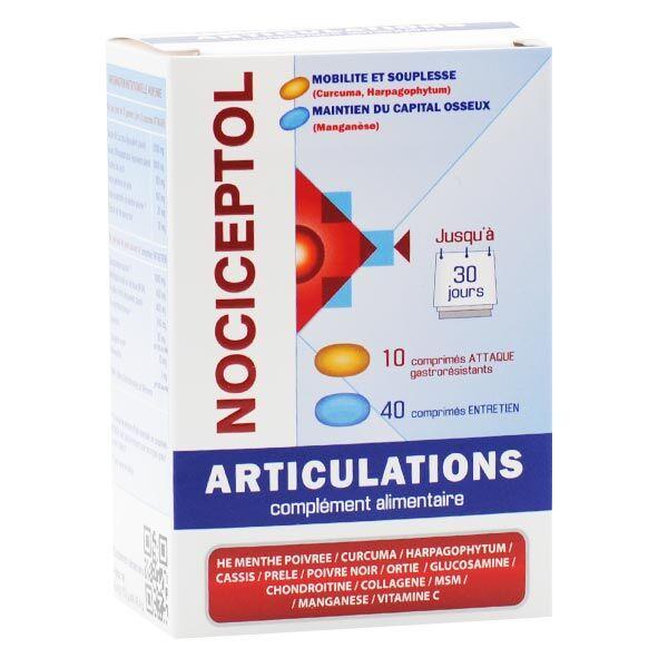 Polidis Nociceptol Articulations 50 comprimés