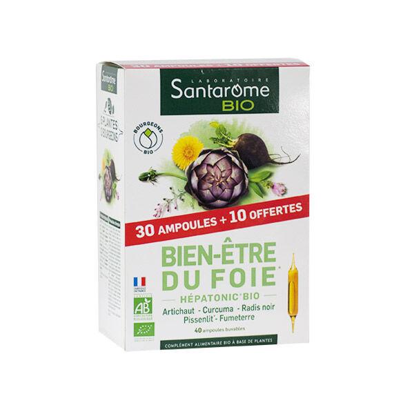 Santarome Bio Bien-Etre du Foie 30 ampoules + 10 Offertes
