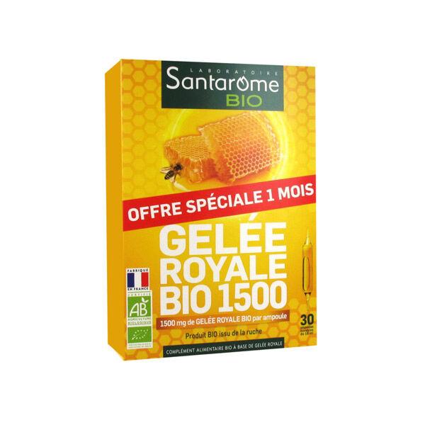 Santarome Bio Gelée Royale 1500 30 ampoules