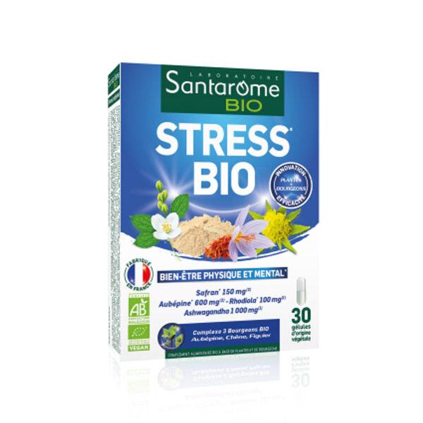 Santarome Bio Stress Bien-Etre Physique et Mental 30 gélules