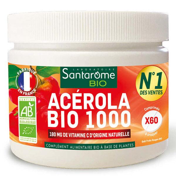 Santarome Bio Acérola Bio 1000 60 comprimés à croquer