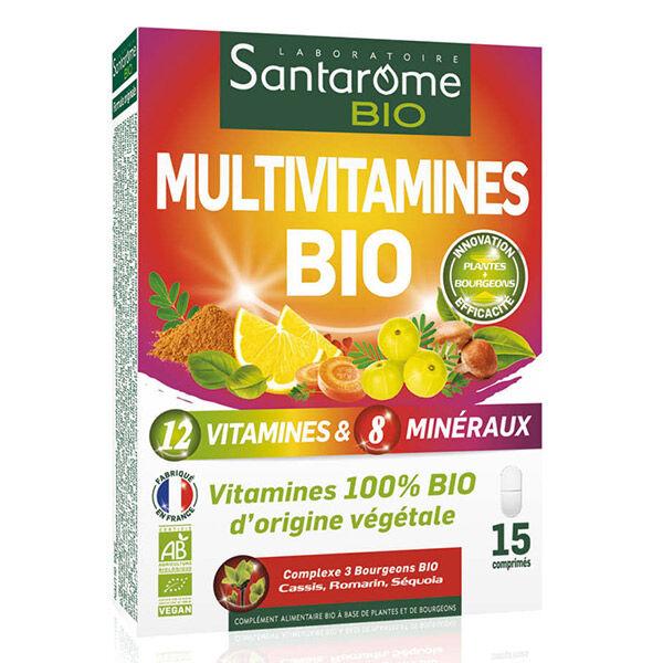 Santarome Bio Multivitamines Bio 15 comprimés