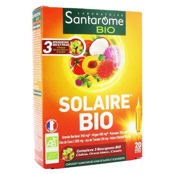 Santarome Bio Solaire 20 ampoules