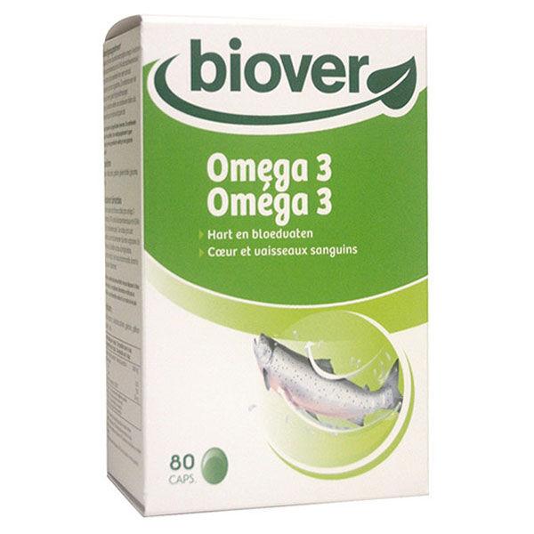 Biover Vitamines et Minéraux Oméga 3 80 capsules