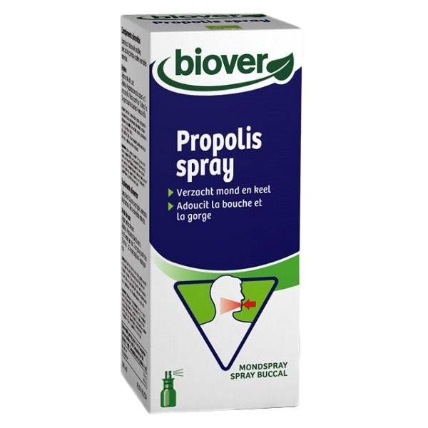 Biover Wintercare Propolis Liquid Spray Buccal Bio 23ml
