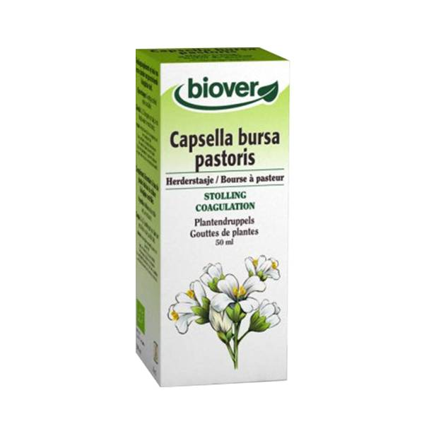 Biover Bourse à Pasteur - Capsella Bursa Pastoris Teinture Bio 50ml