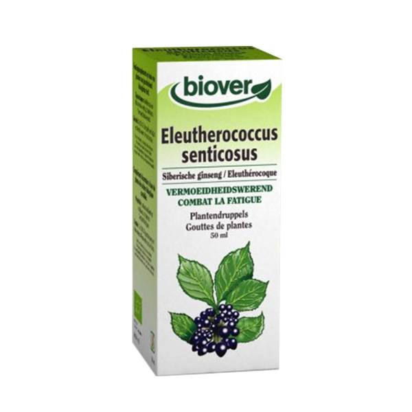 Biover Eleuthérocoque - Eleutherococcus Senticosus Teinture Bio 50ml