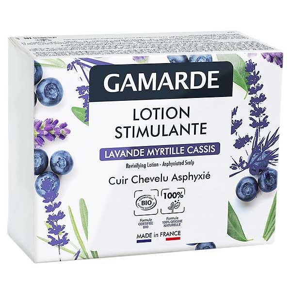 Gamarde Lotion Stimulante Lavande Myrtille Cassis Coffret 6 ampoules 5ml