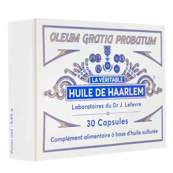 Lefevre Huile De Haarlem Originale 30 capsules