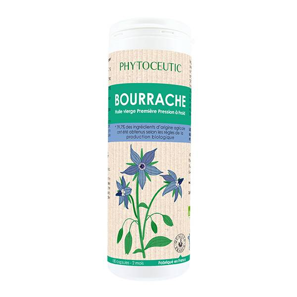 Phytoceutic Bio Huile de Bourrache 180 capsules