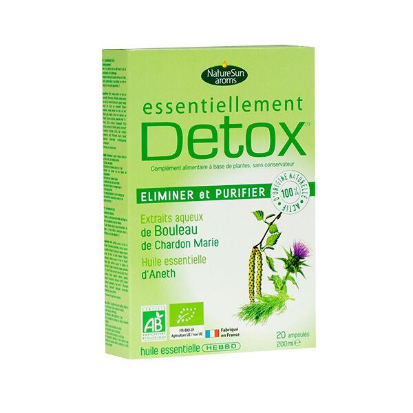 NatureSun Aroms Essentiellement Bio Détox 20 ampoules