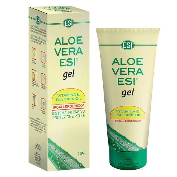 ESI Aloe Vera Gel Tea Tree et Vitamine E 200ml