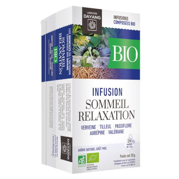 Dayang Infusion Bio Sommeil Relaxation 20 sachets