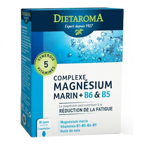 Dietaroma Complexe Magnésium 60 capsules