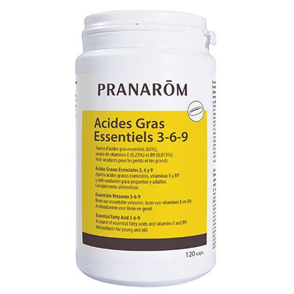Pranarom Acides Gras Essentiels 3 6 9 120 capsules