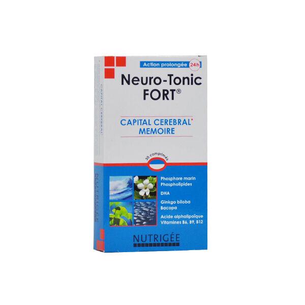 Nutrigée Neuro-Tonic Fort 30 comprimés